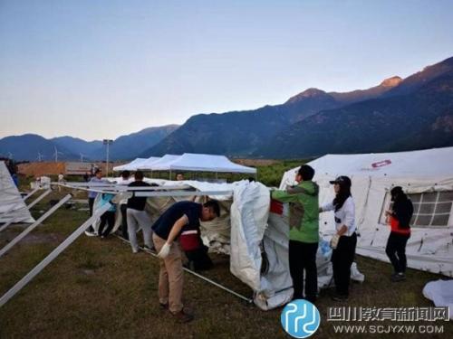 省卫生应急与国防动员军地联合演练在凉山州德昌县举行