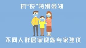 【权威收藏】不同人群居家锻炼专家建议(Ⅲ)--中华中医药学会运动医学分会权威发布